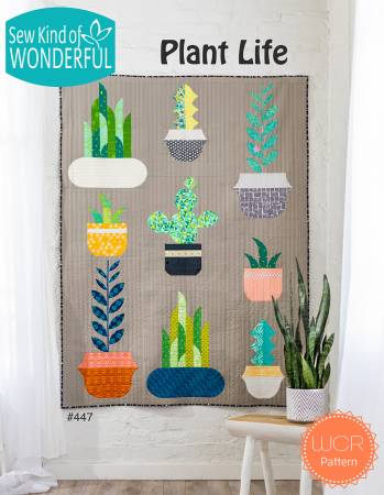 Plant Life quilt pattern booklet by Sew Kind of Wonderful