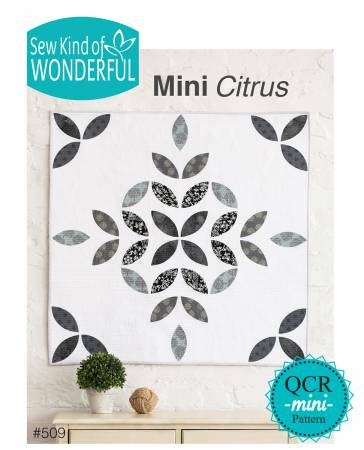 Mini Citrus quilt pattern by Jenny Pedigo