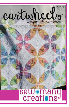 Cartwheels quilt pattern by Sew Many Creations