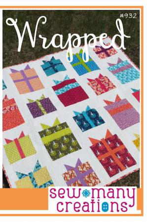 Wrapped quilt pattern by Sew Many Creations