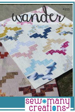 Wander quilt pattern by Sew Many Creations
