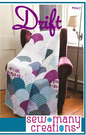 Drift quilt pattern by Jessica VanDenburg