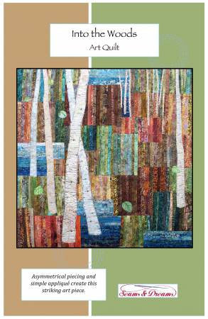 Into the Woods Art Quilt pattern - The Quilter's Bazaar