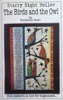 The Birds and The Owl Quilt pattern by Kimberly Rado