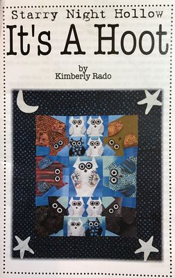 It's A Hoot quilt pattern by Kimberly Rado - The Quilter's Bazaar