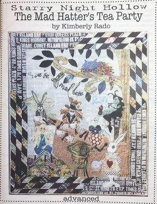 Mad Hatter's Tea Party Quilt pattern by Kimberly Rado - The Quilter's Bazaar
