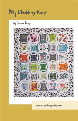 My Wedding Ring quilt pattern by Eunsoo Kang