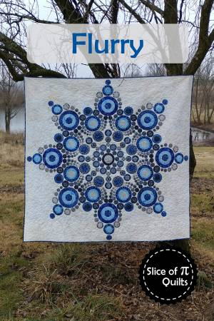 Flurry quilt pattern by Laura Piland