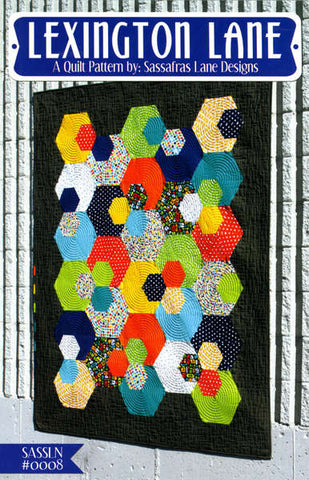 Lexington Lane quilt pattern by Shayla Wolf & Kristy Wolf