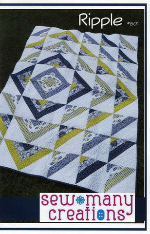 Ripple quilt pattern by Jessica VanDenburg