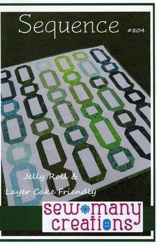 Sequence quilt pattern by Sew Many Creations