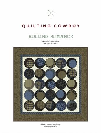 Rolling Romance quilt pattern by Dale Allen-Rowse