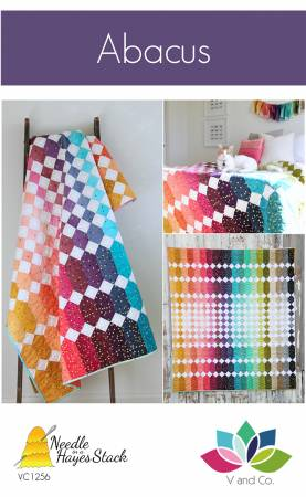 Abacus quilt pattern by Vanessa Christenson and Tiffany Hayes