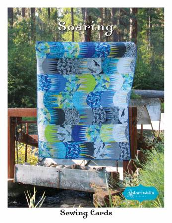 Soaring quilt pattern by Valori Wells