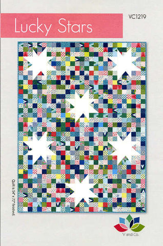 Lucky Stars quilt pattern by Vanessa Christenson
