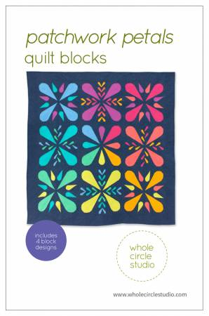 Patchwork Petals Quilt Blocks by Sheri Cifaldi-Morrill