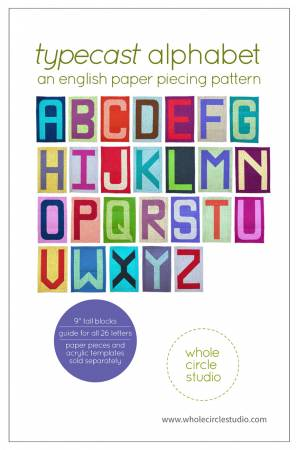Typecast Alphabet Blocks Pattern Guide by Sheri Cifaldi-Morrill