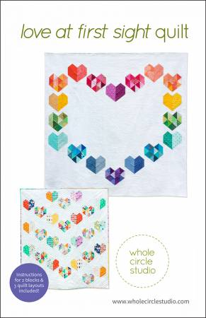 Love At First Sight quilt pattern by Sheri Cifaldi-Morrill