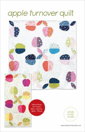 Apple Turnover quilt pattern by Sheri Cifaldi-Morrill