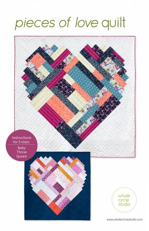 Pieces of Love quilt pattern by Sheri Cifaldi-Morrill