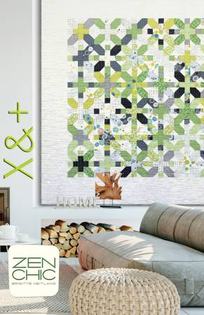 X & Plus quilt pattern by Brigitte Heitland