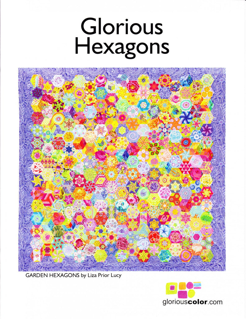 Glorious Hexagons Starter Set - The Quilter's Bazaar