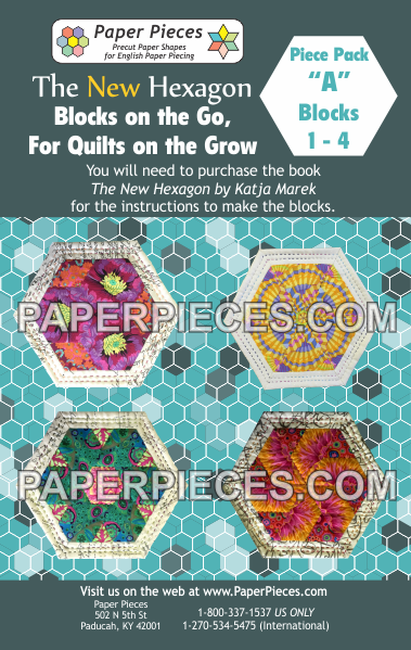 "Blocks on the Go, For Quilts on the Grow Pack ""A"" - The Quilter's Bazaar"