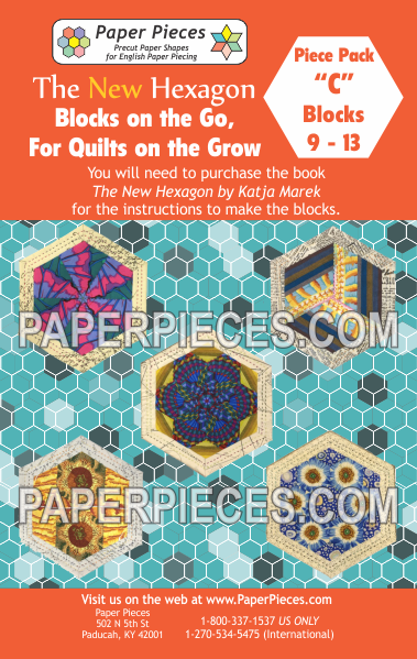 "Blocks on the Go, For Quilts on the Grow Pack ""C"" - The Quilter's Bazaar"