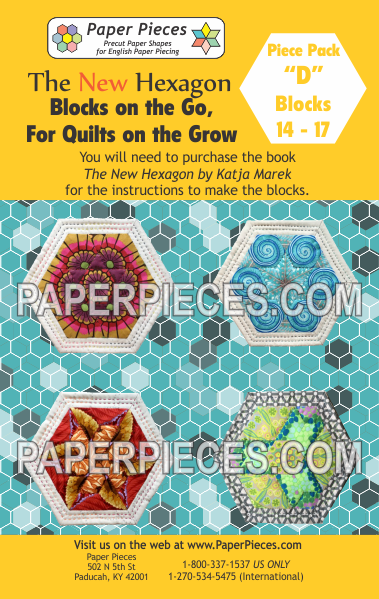 "Blocks on the Go, For Quilts on the Grow Pack ""D"" - The Quilter's Bazaar"
