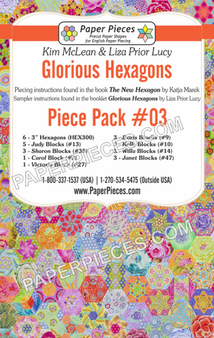 Glorious Hexagons Piece Pack #03
