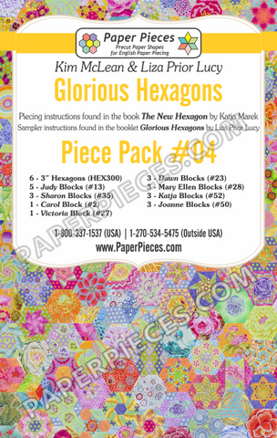 Glorious Hexagons Piece Pack #4