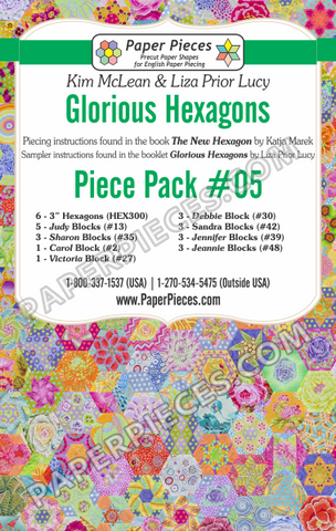 Glorious Hexagons Piece Pack #05