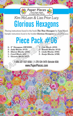 Glorious Hexagons Piece Pack #06