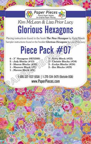 Glorious Hexagons Piece Pack #07