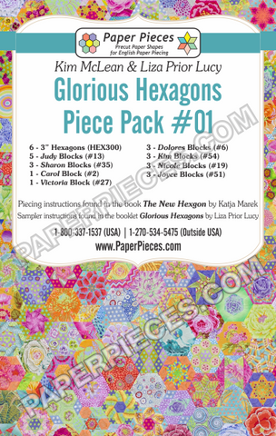 Glorious Hexagons Piece Pack #01