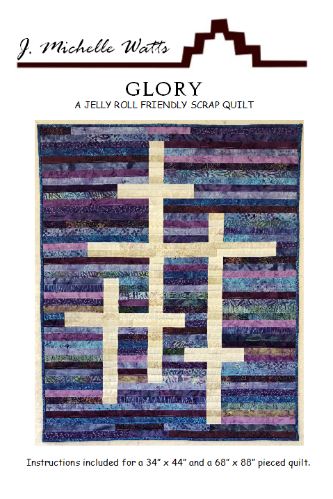 Glory quilt pattern by J Michelle Watts