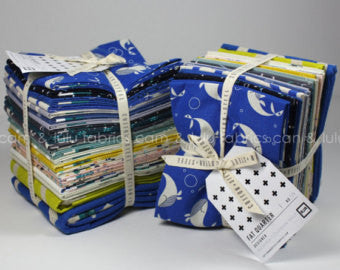 Kujira & Star by Rashida Coleman-Hale for Cotton & Steel - fat quarter bundle