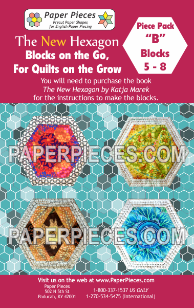 "Blocks on the Go, For Quilts on the Grow Pack ""B"" - The Quilter's Bazaar"