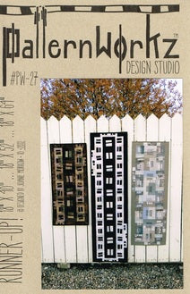 Runner-Up quilt pattern by Joanie Morrow