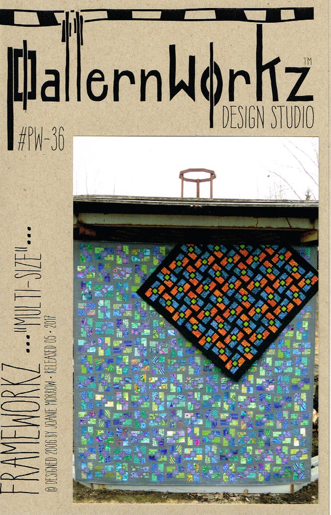 Frameworkz quilt pattern by Joanie Morrow - The Quilter's Bazaar