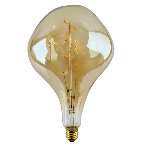 Led Filament Lamp - ET - 6 Watt - 2500K Warm Wit - E27 - Amber
