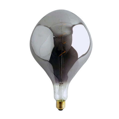 Led Filament Lamp - ET - 6 Watt - 2500K Warm Wit - E27 - Smoke