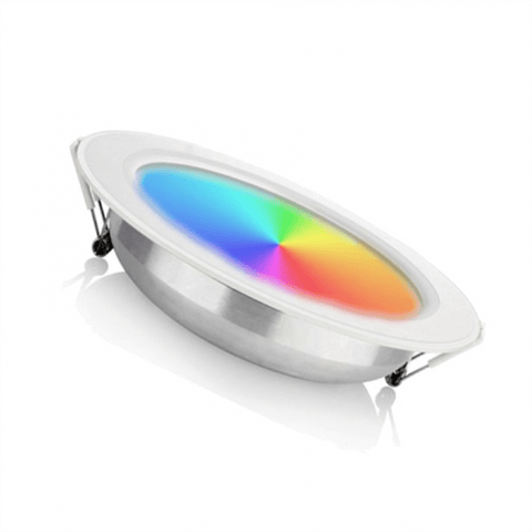 Led Downlight - 6W - Inbouwspot - Zaagmaat Ø95x38mm - RGB + CCT