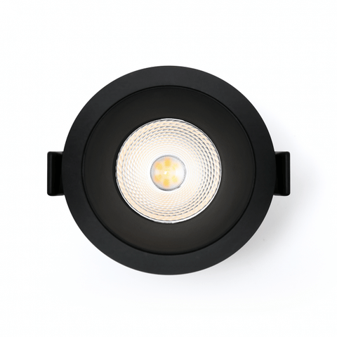 Led Downlight Miracle 9W Zwart 3000K