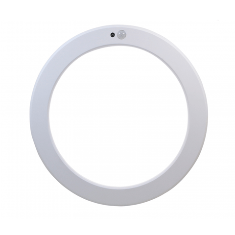Led Downlight - In- en Opbouwspot -  Bewegings- en lichtsensor - Ø205mm - 18W - CCT