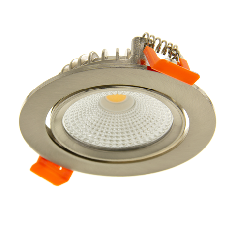 Led Downlight - Slim-Fit - Varda - Inbouwspot (23mm) - Dimbaar - 5W - Zilver