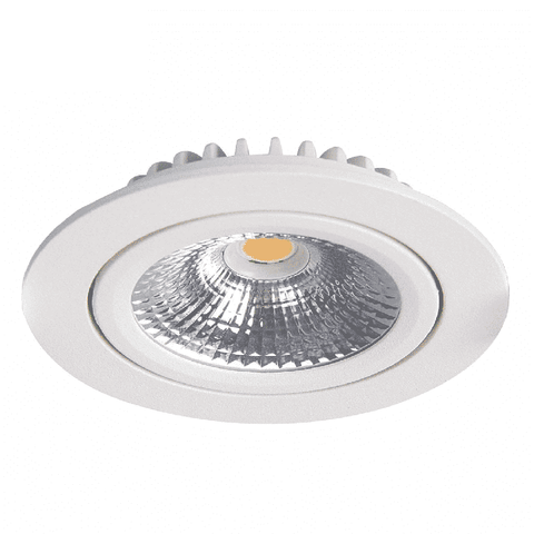 Led Downlight - Slim-Fit - Varda - Inbouwspot (23mm) - Dimbaar - 5W - Wit
