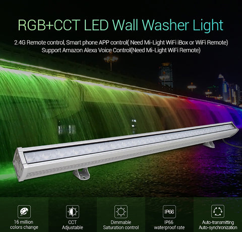 Wall Washer - Led - RGB + CCT - 48W