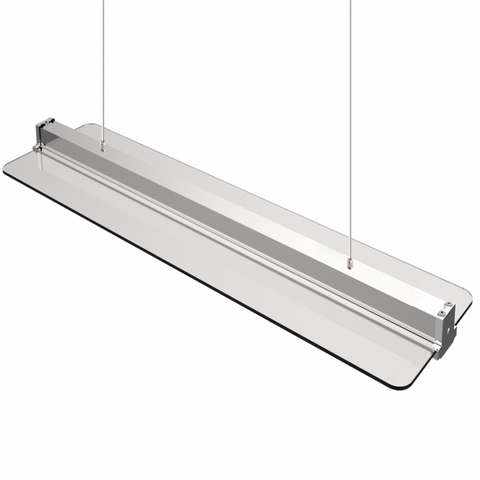 Transparant Led Paneel 300mmx1200mm 40W CCT Kleurwissel incl. afstandsbediening