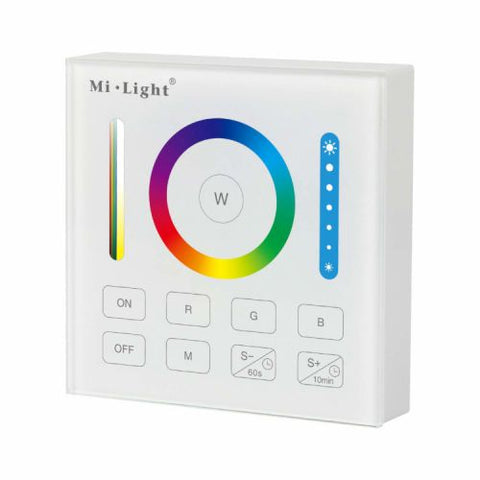 Milight - Smart RGB+CCT Controller - Wandbediening - 86x86mm - B0